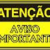Alto Taquari|  AVISO IMPORTANTE