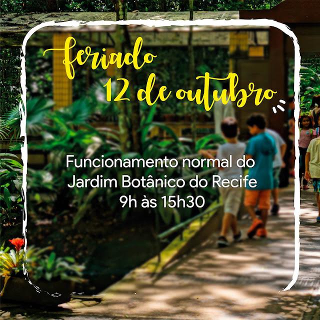 Semana da criança no Jardim Botânico do Recife