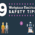 9 Workplace Electrical Safety Tips #infographic