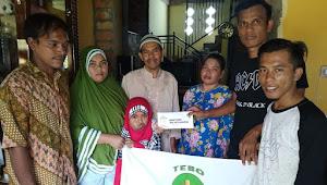 Donasi Melalui Tebo Top Foundation Telah Diterima Orang Tua Abel