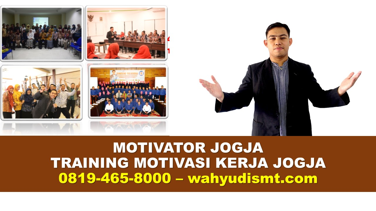 Jasa Motivator Jogja | Motivator Terkenal Jogja