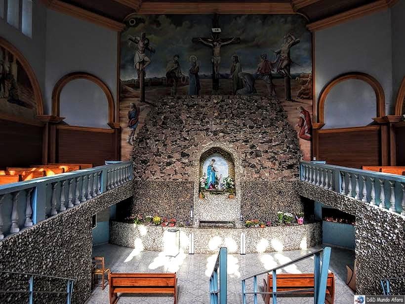 O que fazer em Nova Veneza, Santa Catarina - Santuário Nossa Senhora de Caravaggio