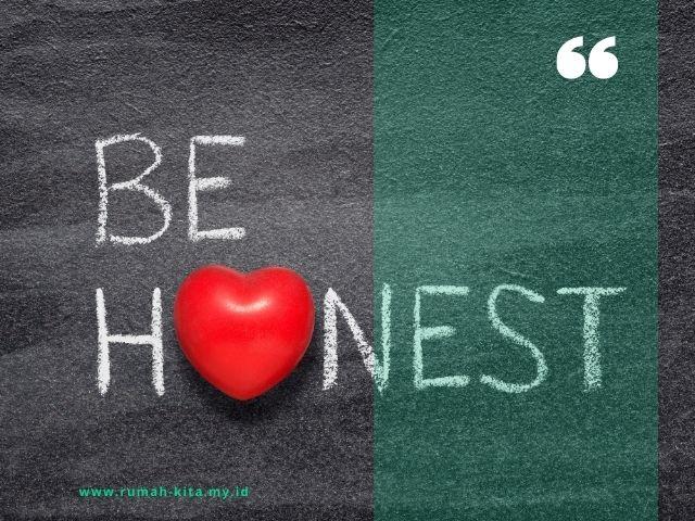 tips melatih kejujuran