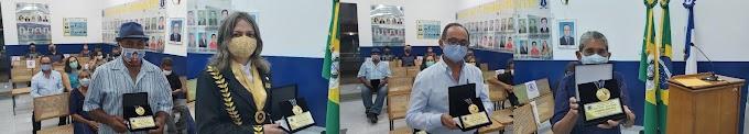 Comenda João Zuba é entregue em sessão solene da Câmara de Altaneira