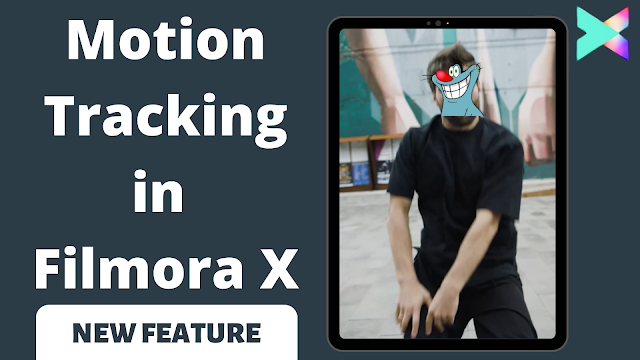 Use motion tracking feature in Wondershare Filmora X