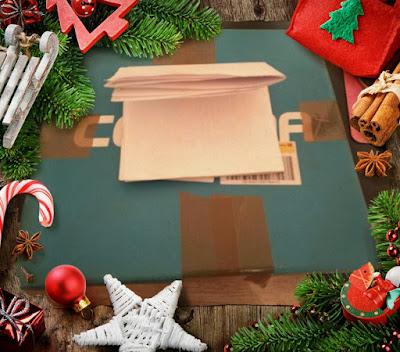 Unboxing - Weihnachtspost von Jenny
