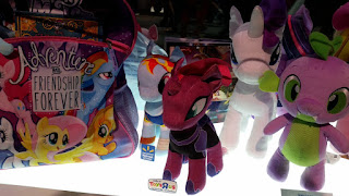 Exclusive Tempest Shadow and Rainbow Dash MLP The Movie Plush Shown at SDCC