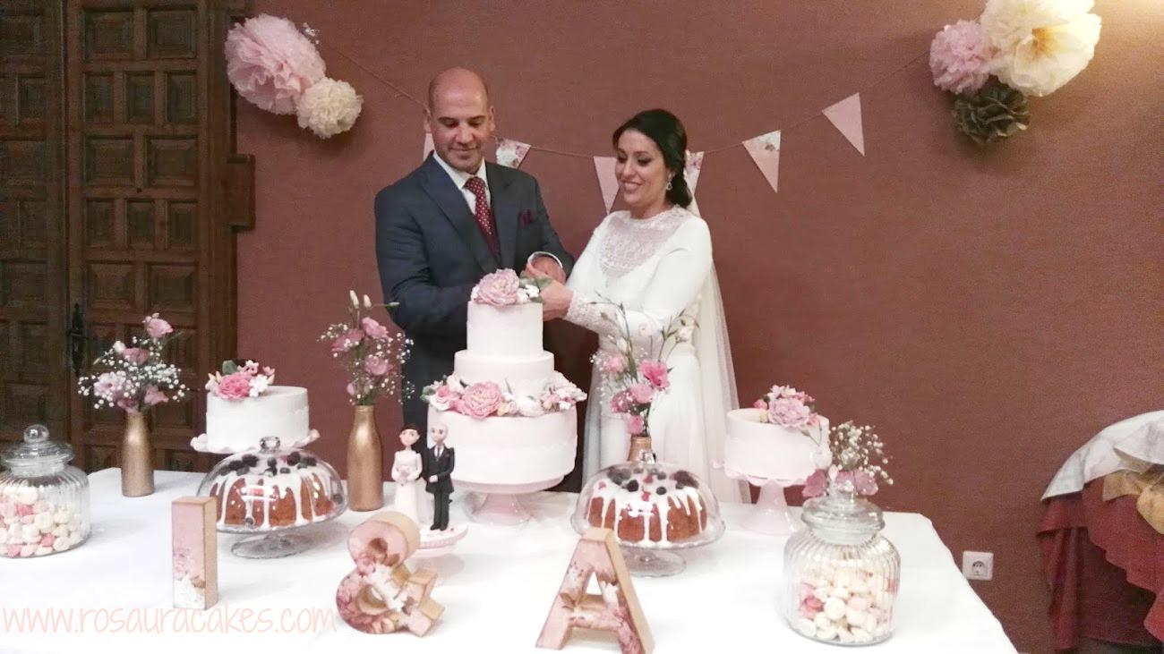 Rosaura cakes mesa dulce boda isa y ale mesa de chuches for Dulce boda