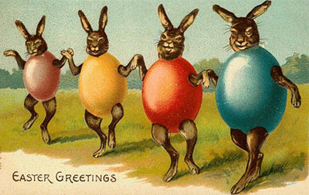 Bytes Some vintage Easter cards – Vintage Easter Cards