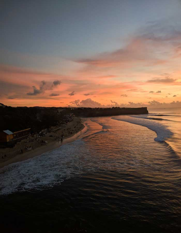 Fasilitas Wisata Balangan Beach Bali