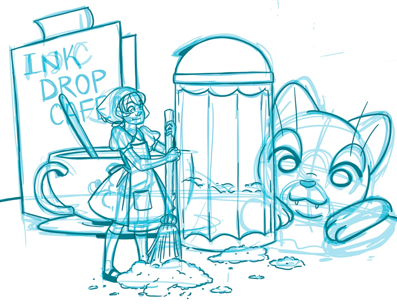 Nattosoup Studio Art and Process Blog: Turning Your Sketches and ...
