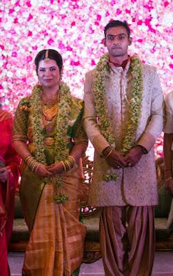 Actress Radhika Sarathkumar daughter Wedding Stills