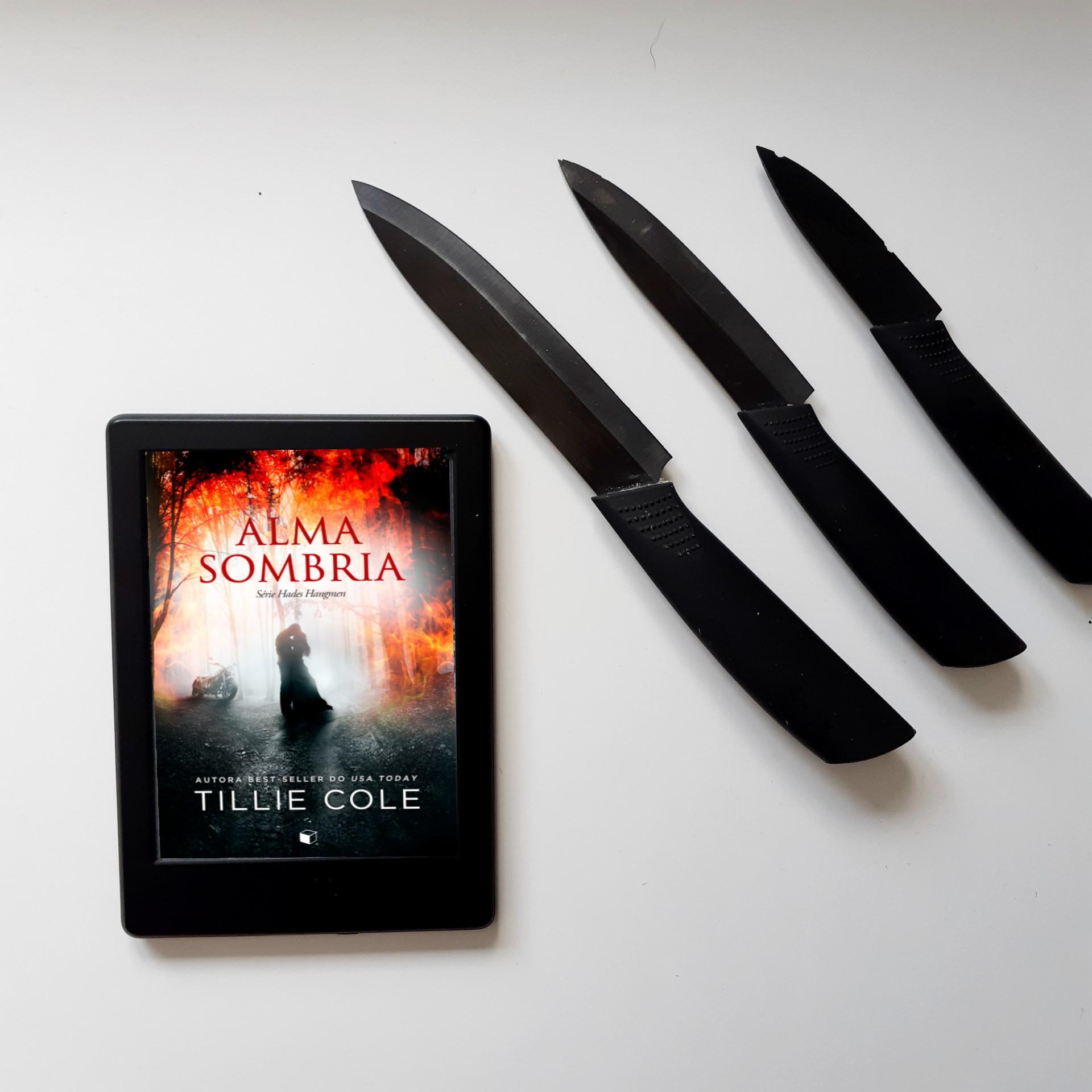 Livro Alma Sombria da série Hades Hangmen