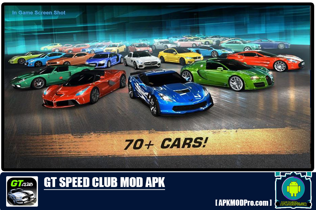 GT: Speed Club – Drag Racing Mod Apk 1.5.28.163 [Unlimited Money, Coins]