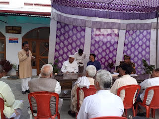 लखीमपुर खीरी : आगामी त्यौहार व पंचायत चुनाव को दृष्टिगत रखते हुए पीस कमेटी बैठक का आयोजन