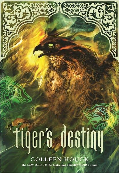 """News: Capa do livro """"Tiger's Destiny"""", da autora Colleen Houck. 8"""
