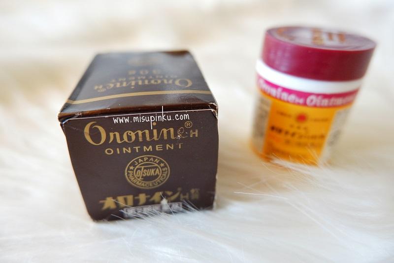 menghilangkan bekas jerawat dengan oronine h ointment