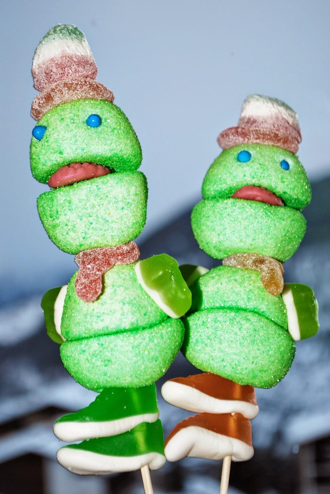 DIY - Kreaturen aus Süßigkeiten