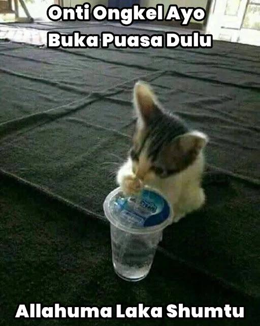 Meme Lucu Puasa Ramadhan 9