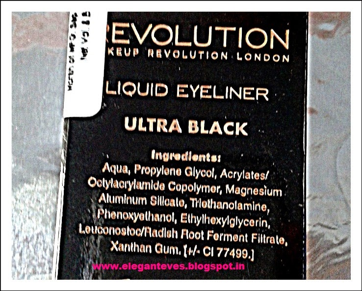 Makeup Revolution London's Liquid Eyeliner Ultra Black