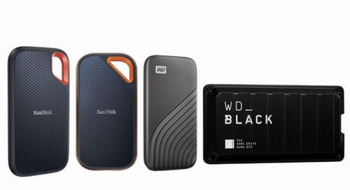 Western Digital has doubled the storage capacity of portable solid state drives