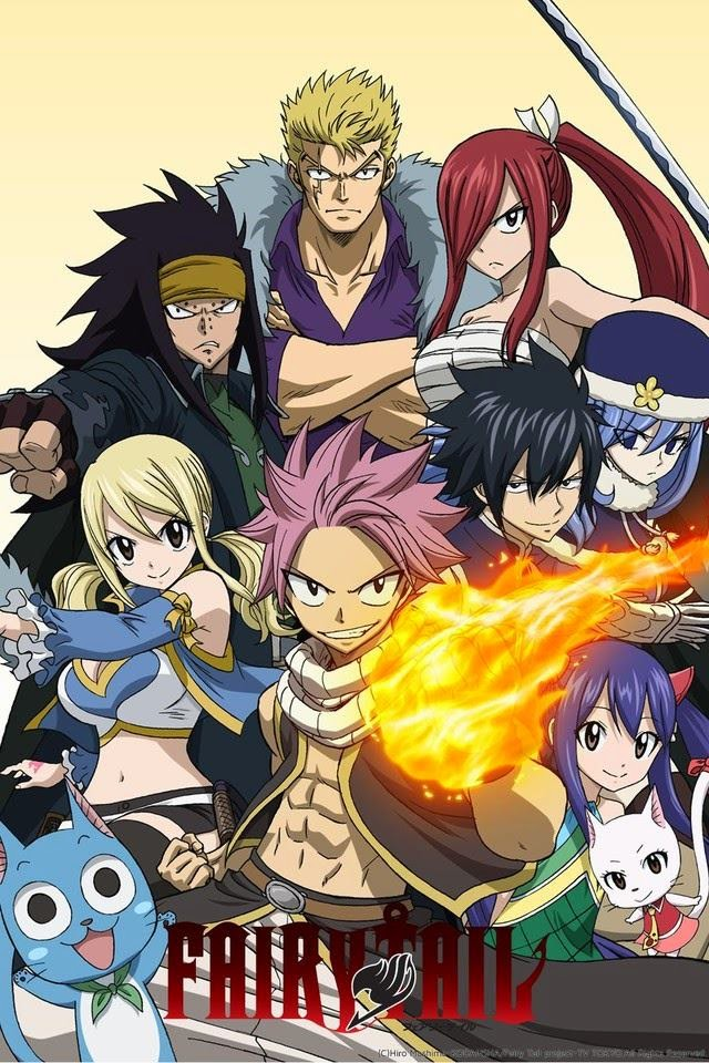 cover anime Fairy Tail (2014)