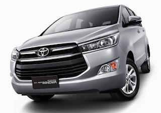 Rental mobil toyota all new Innova di Jakarta