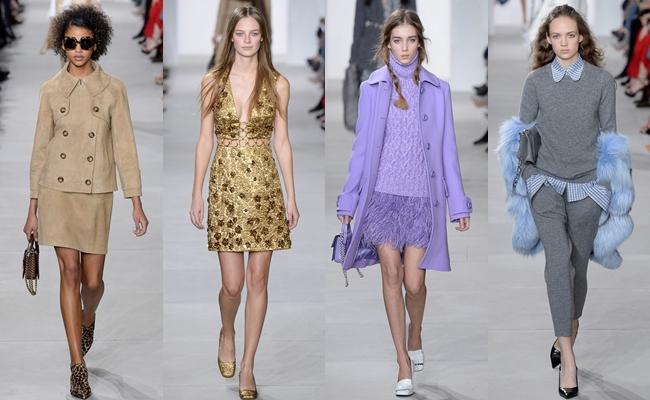 Best of New York Fashion week fall 2016.Michael Kors fall 2016.
