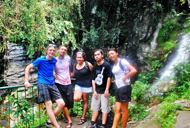 Levy Amosin, Marianne Tagaca, Desa Tayting, Celine Murillo and Mujee Gonzales
