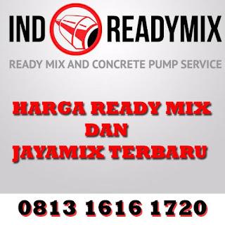 Harga Readymix dan Jayamix Murah Terbaru