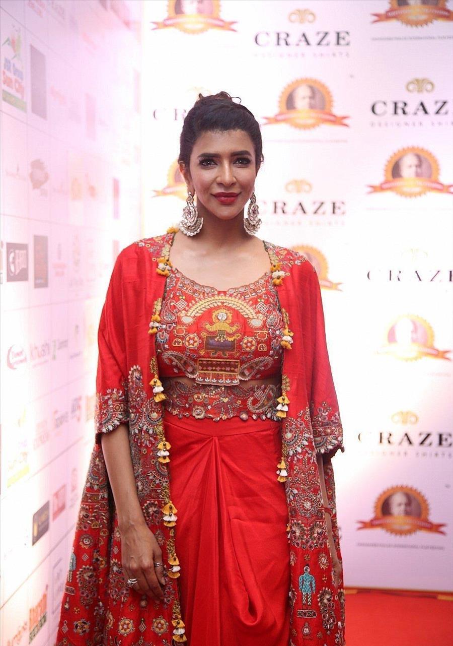 Indian Model Lakshmi Manchu at Dada Saheb Phalke Awards South