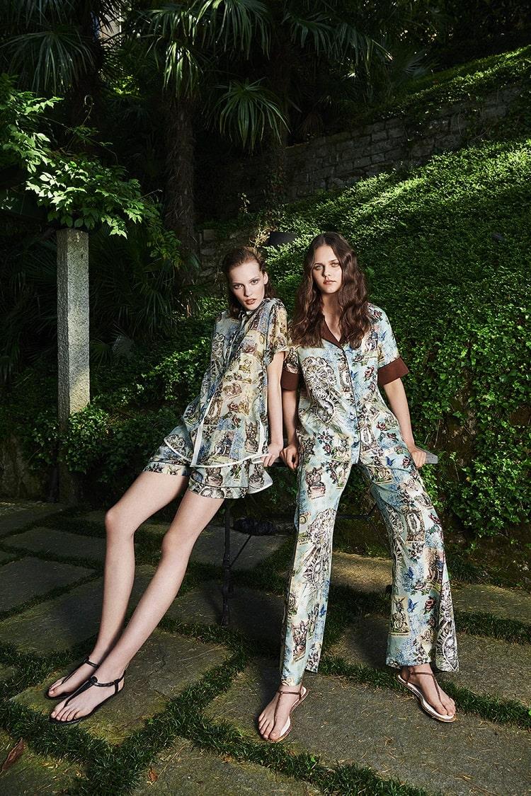 pajama fashion, sleepwear fashion