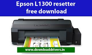 Epson Reset tool L1300