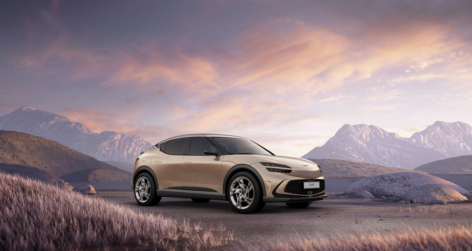 Genesis Premieres The GV60, A Luxury EV That Delivers Interactive Mobility