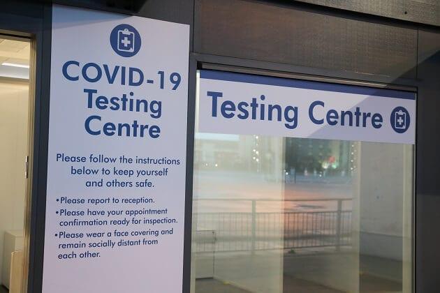 Stand de pruebas aeropuerto Stansted