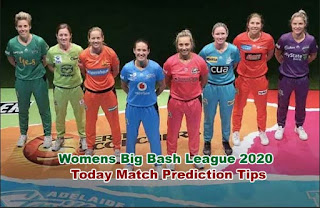 WBBL T20 2020 -  Womens Big Bash League 2020  Match Prediction Tips Free