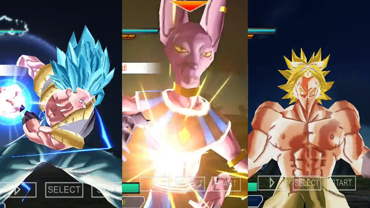 PSP Xenoverse 2 Mod iso Download