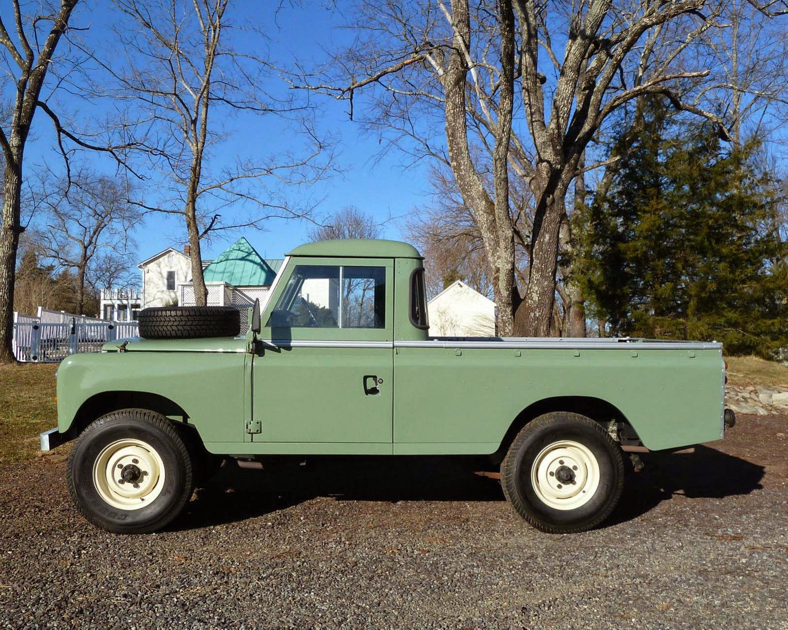 1973 Land Rover Pick Up Truck Auto Restorationice