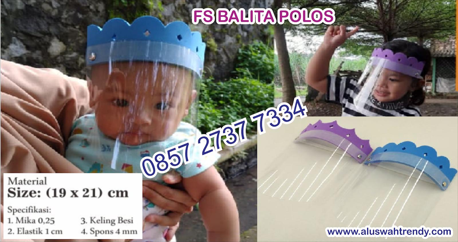 Face Shield Balita Polos