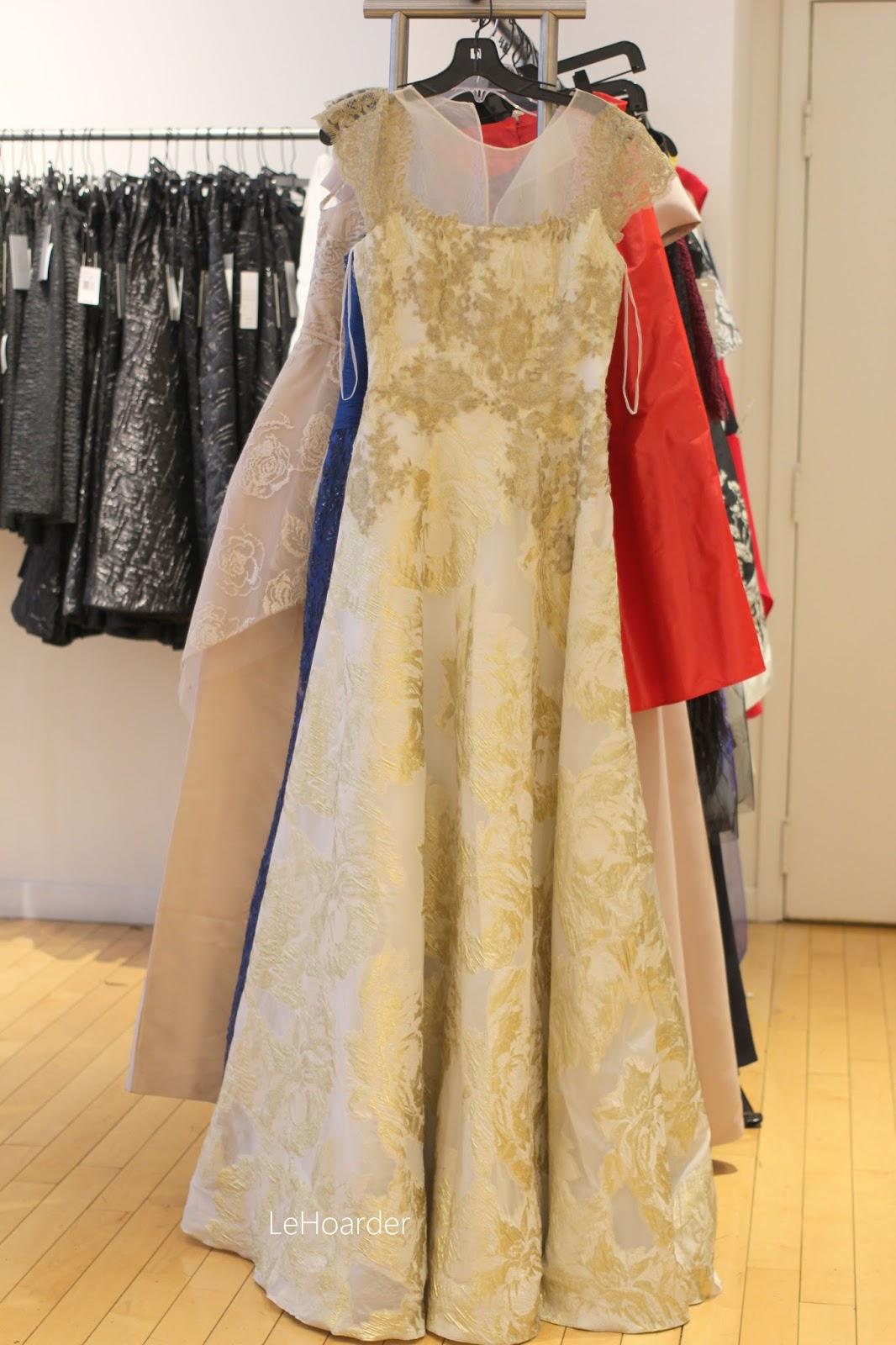 Racks and Racks of Modest Dresses at the Teri Jon Sample Sale! | Le ...