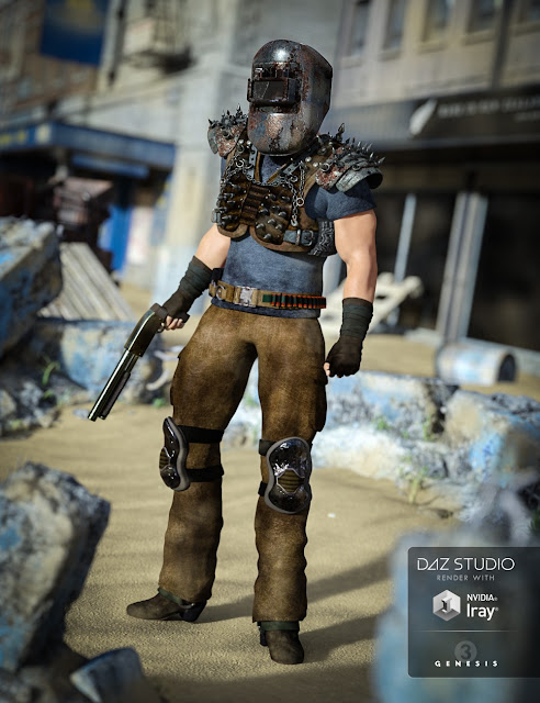 Wastelander for Genesis 3 Male