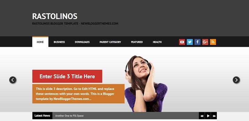 Rastolinos Free Blogger Template