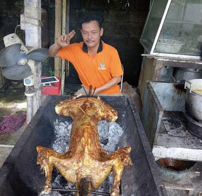 Kambing Guling di Bedugul - Bali