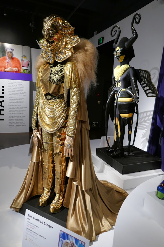 Masked Singer season 1 TV costumes