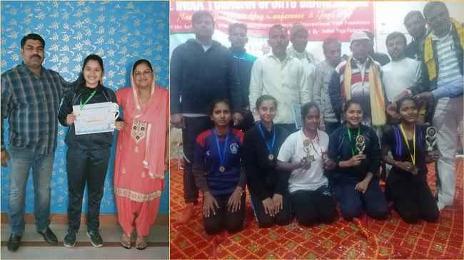 all-india-yoga-championship-palwal-anjali-shandilya-second-place