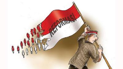 Manifestasi Reformasi, Layu Sebelum Berkembang