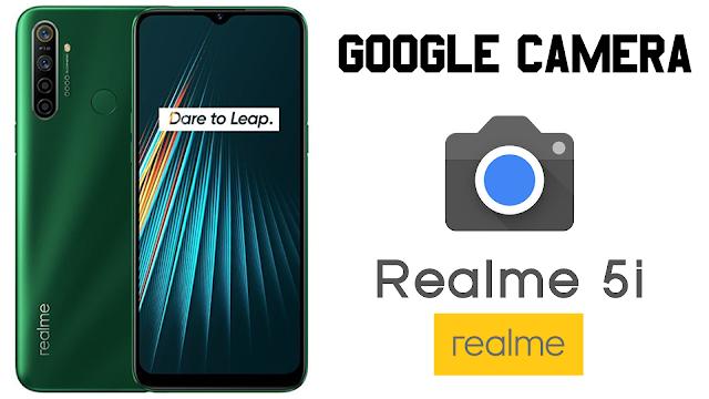Cara Install Google Camera (GCam) di Realme 5i