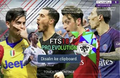 FTS 18 Pro Evolution Soccer Mod Apk by Alboin Terbaru