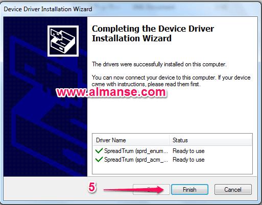 Install spd USB Driver
