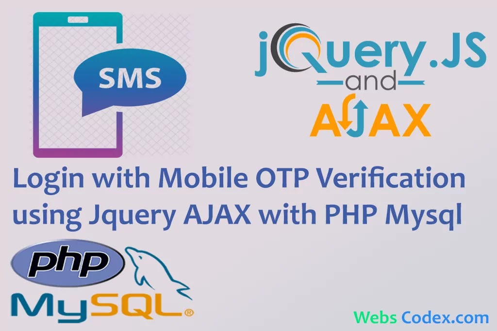 Implement OTP SMS Mobile Verification in PHP with TextLocal, Mobile Number Verification via OTP SMS using PHP, OTP or one-time password
